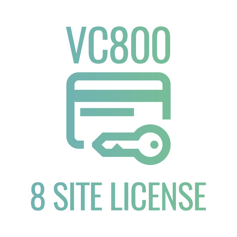 VC800 8 site license