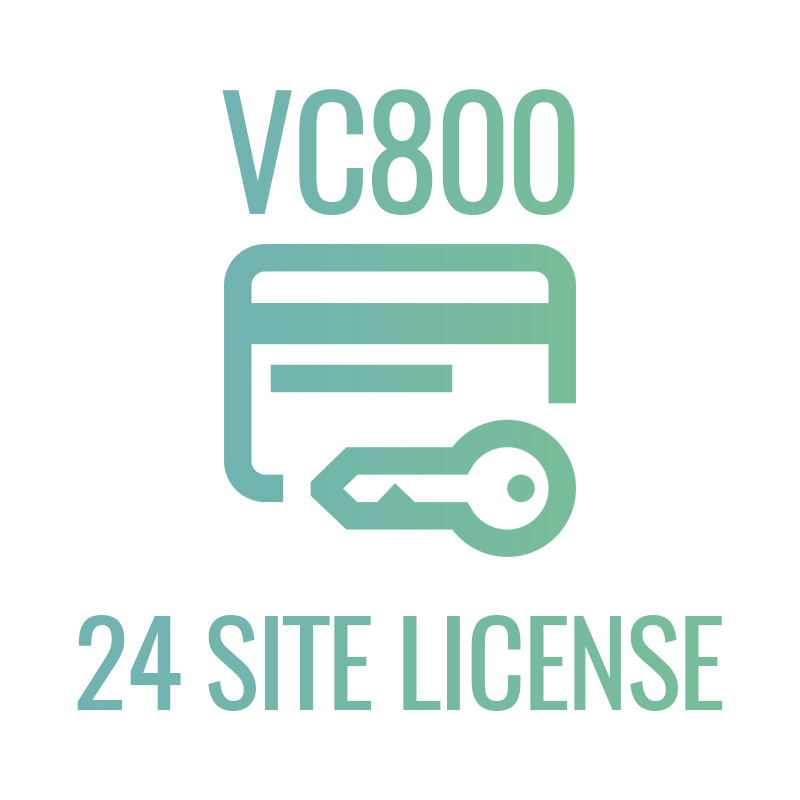 VC800 24 site license